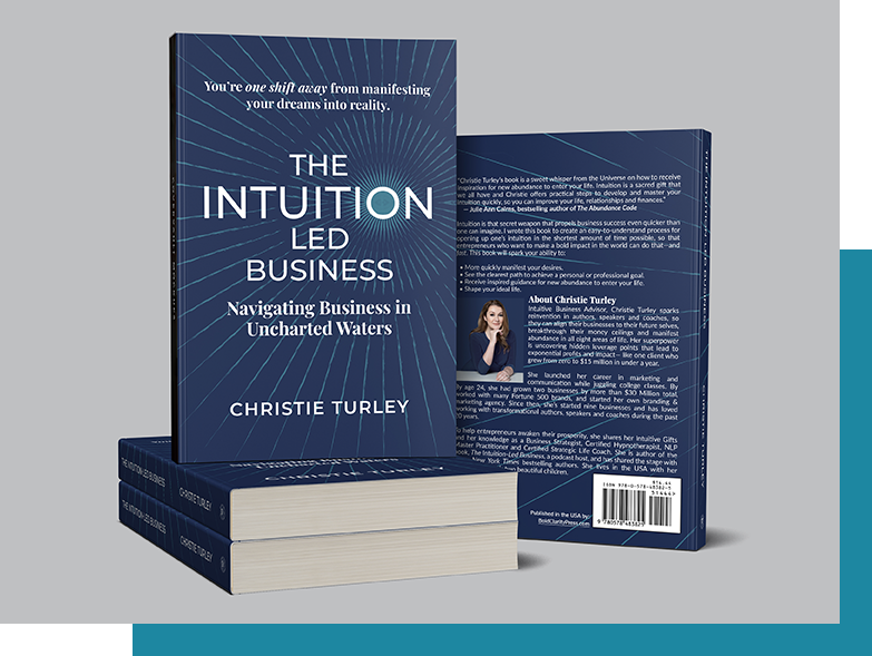 My Book, The Intuition-Led Business - Christie Turley